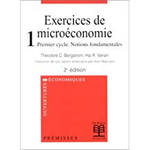 Exercices de microeconomie t.1 notions fond.