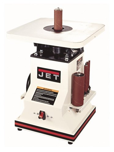 JET 708404 JBOS-5 5-1/2 Inch 1/2 Horsepower Benchtop Oscillating Spindle Sander with Spindle Assortment, 110-Volt 1 Phase