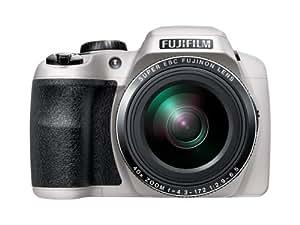 """Fujifilm S8200 - Cámara compacta de 16.2 Mp (pantalla de 3"""", zoom óptico 40x, zoom digital 2x), blanco [importado]"""