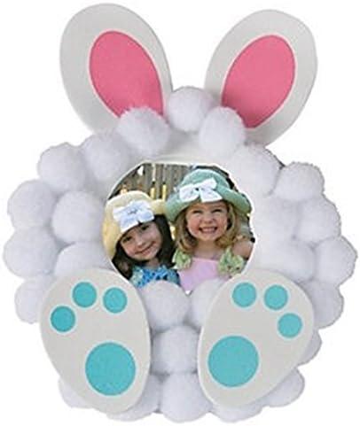 Easter Pom Pom Bunny Chick Craft Kits Select Kit 6//Pk