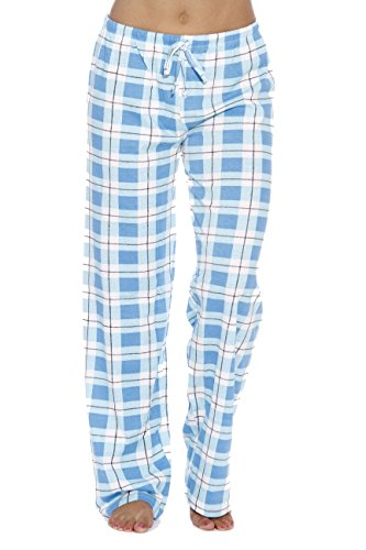 (Just Love Women Pajama Pants Sleepwear 6324-BLU-10019-1X)
