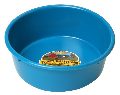 Little Giant P5TEAL Dura-Flex Plastic Utility Pan, 5-Quart, Teal