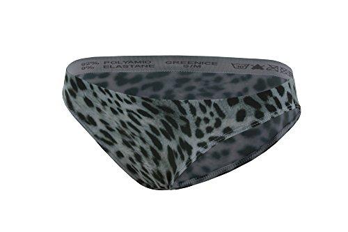 GreeNice Paquete de 9-12 Cuerpo Braguitas Leopardo Sin costura Slip para mujer 7128 Pack de 12