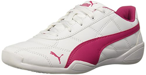 PUMA Unisex Tune Cat 3 Sneaker, White-Beetroot Purple, 1.5 M US Little Kid