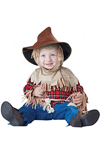 California Costumes Baby Boys' Silly Scarecrow Infant, Brown/Red, 12 to 18 Months