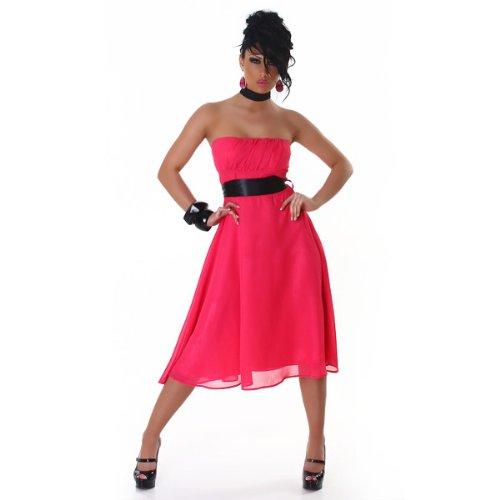 Jela 201357 Chiffon Rosa dell'abito London cocktail dx16Uw