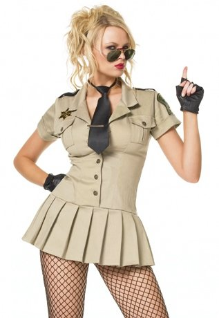 Sexy Adult Halloween Cop Costumes HOT Sheriff Costume L Womens U.S. Large ()