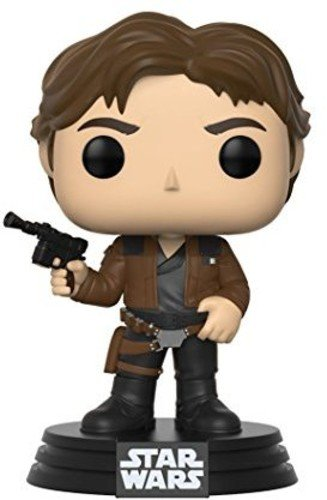 Funko Pop Star Wars Han Solo Collectible Figure, Multicolor