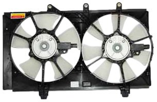 TYC 620740 Dodge Neon Replacement Radiator/Condenser Cooling Fan Assembly ()