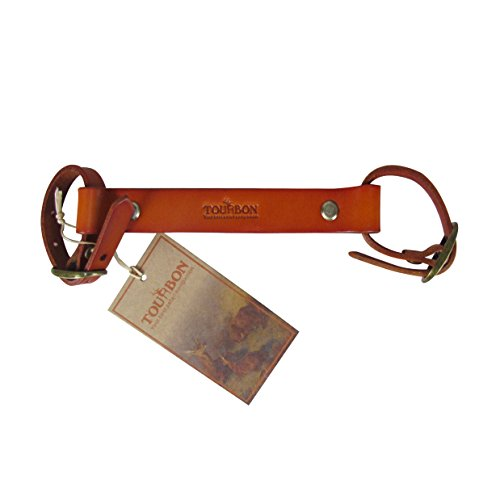 brown leather bicycle frame handle