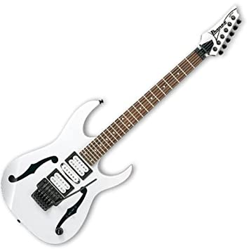 Ibanez pgm3 Paul Gilbert firma modelo nuevo superstrat electrig guitarra color blanco: Amazon.es: Instrumentos musicales