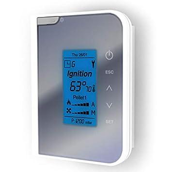 Mando Bidireccional Wireless tiemme 2ways2 estufas pellets Clam: Amazon.es: Hogar
