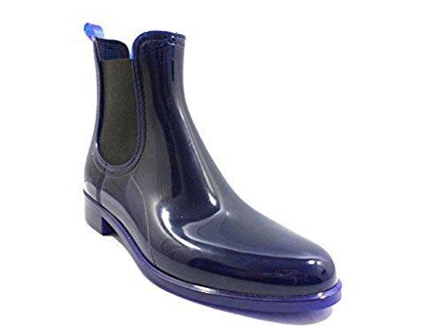 Zapatos Mujer JEFFREY CAMPBELL 39 Botines Azul Caucho KY479