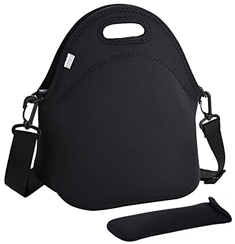 COOFIT Lunch Bag, Neoprene Lunch Tote Insulated Lunch Box School Supplies Lunch Bag for Women