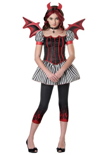 [California Costumes Devil Tween Costume, X-Large] (Devil Costume For Girls)