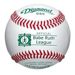 Grade Babe Ruth Raised Seam (Diamond Babe Ruth Tournament Grade Baseball, Dozen)