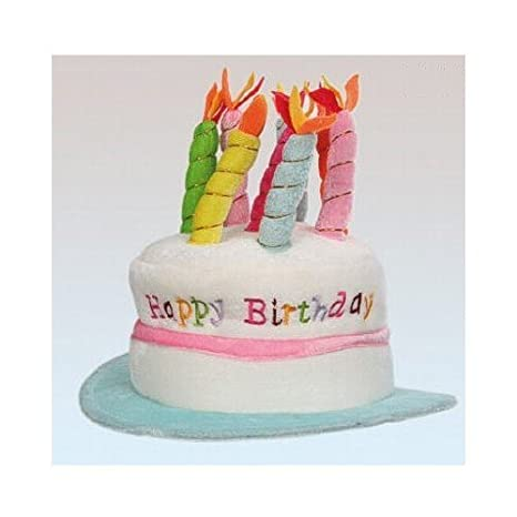 Amazon Oob Happy Birthday Hat With Candles Assorted Colours Toys Games