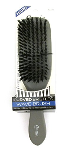 Annie Hard Curved Bristles Wave Brush 2330 Grey