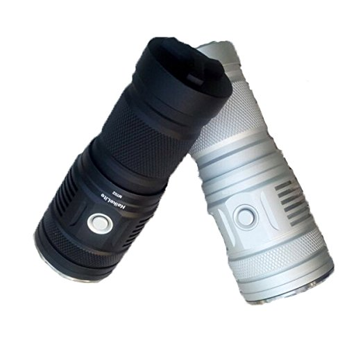 MT02 XHP35 HD CW 2500LM Thrower EDC LED Flashlight (Color Silver) by LEEPRA (Image #5)