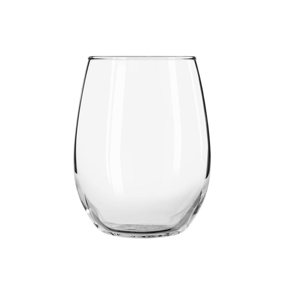Libbey 213 Stemless 15 Ounce Wine Glass - 12 / CS