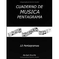 Cuaderno de Musica Pentagrama: Cuaderno de Musica