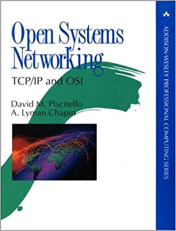 Open Systems Networking Tcpip And Osi Addison Wesley Professional