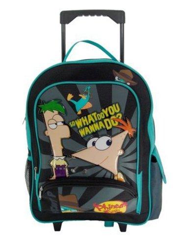Phineas und Ferb Rucksack mit Rollen