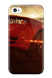 For Iphone 4/4s Tpu Phone Case Cover(audi)