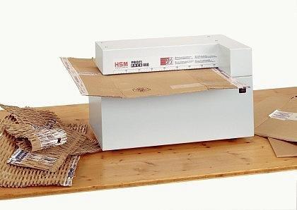 Karton Schredder PrimoPack 4000 Aktenvernichter Kartonschredder