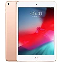 """Apple 7.9"""" iPad Mini Tablet, Full HD, 64 GB, Wifi + Cellular, iOS, MUX72TU/A, Altın, 5. nesil, 2019"""