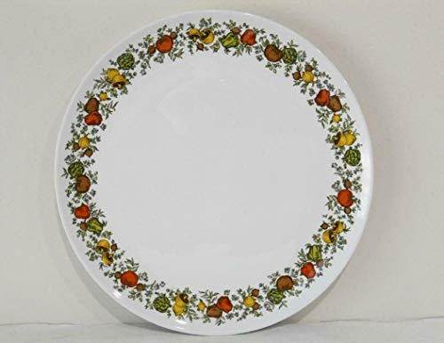"Kitchen Glassware Spice of Life Pyroceram 10"" Dinner Plate Tkslick from Unknown"
