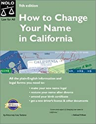 How to Change Your Name in California (9th Edition)