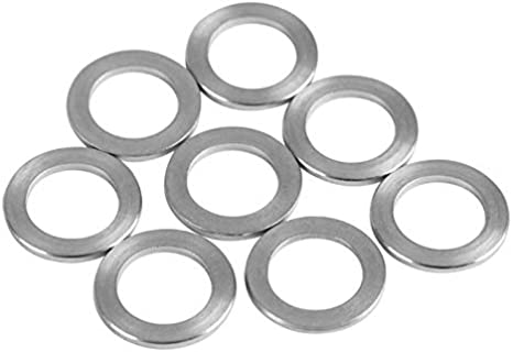 Flat Washers 10PCS 8MM Stainless Steel Flat Machine Washer Ultrathin Plain Gaskets Shim for 3D Printer Parts Accessories Drop Ship Stainless Flat Washer