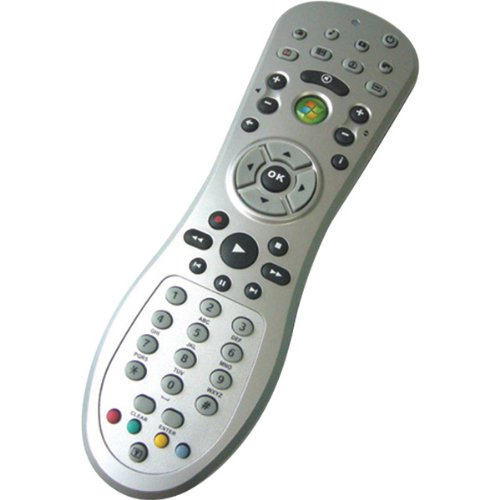 BD2907-Windows Media Center MCE Remote Control with IR Receiver - Silver