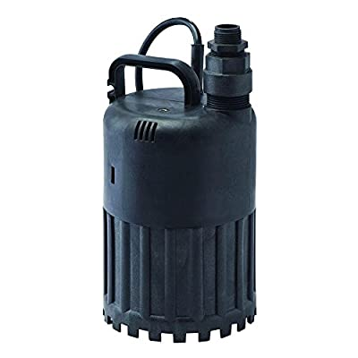 3180-GPH 4/10 HP Thermoplastic Waterfall Utility Pump