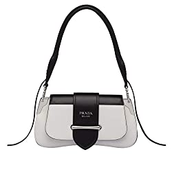 Cj Prada Sidonie Leather Shoulder Bag White