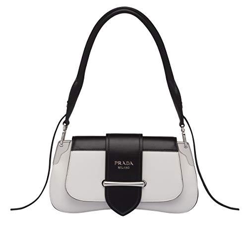 JB-Prada Sidonie leather shoulder bag (white)