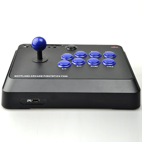 Mayflash F300 Arcade Fight Stick Joystick for PS4 PS3 XBOX ONE XBOX 360 PC Switch NeoGeo mini by May Flash (Image #2)