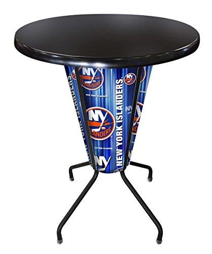 Holland Bar Stool Co. Outdoor/Indoor LED Lighted New York Islanders Pub Table