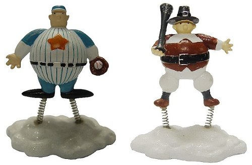 Miracle on 34th Street Macy's Parade Floats Decorative Figurines Set of - Macy Street 34th