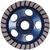 Bosch DC730H 7-Inch Diameter Turbo Row Diamond Cup Wheel with 5/8-11 Hub