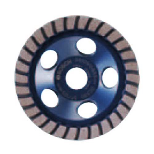 Image of Bosch DC730H 7-Inch Diameter Turbo Row Diamond Cup Wheel with 5/8-11 Hub Home Improvements