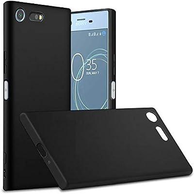 online store 0cdfa f1f87 Sony Xperia XZ Premium G8141/G8142 TPU Case Back Cover Black: Amazon ...