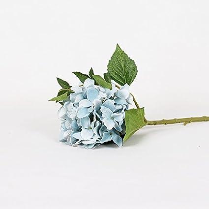 Matrimonio Azzurro Ortensia : Wpewei simulazione di fiori freschi azzurro ortensia tavolo in