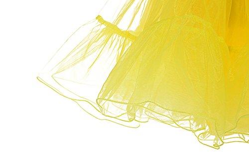 Rockabilly Petticoat en tulle annes longueur 66cm vintage Jupon Dresstells 50 Jaune 26 HxwgF0OYw