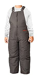 Arctix Infant/Toddler Insulated Snow Bib Overalls,Charcoal,3T