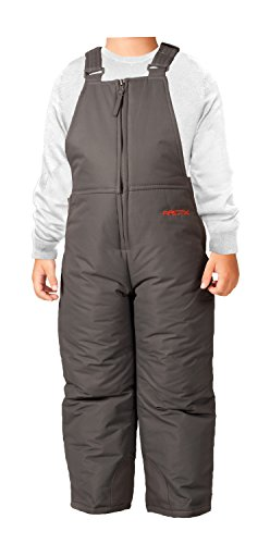 Arctix Infant/Toddler Insulated Snow Bib Overalls,Charcoal,24 Months