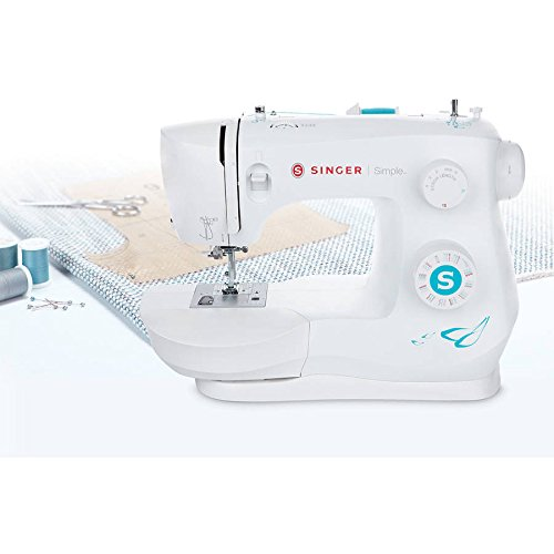 Singer 3337 Simple 29-Stitch Sewing Machine with Sew Easy Foot