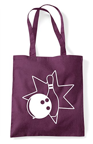 Statement Icon Plum 4 Bag And Shopper Pin Bowling Tote Bowling Ball qnw4xtYf