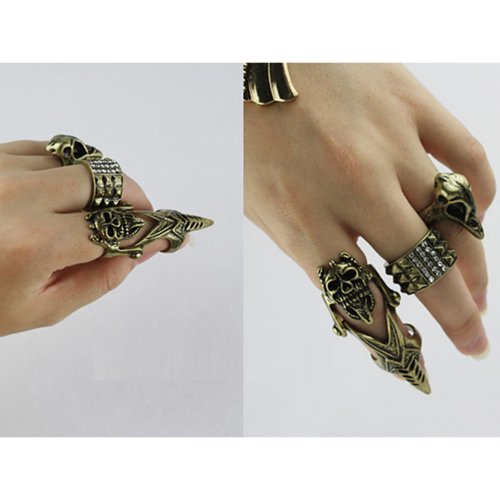 Gothic Unisex Knuckle Finger Cocktail